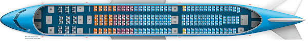 A340 Seat Map Airbus A330 200 Klm Com