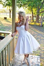 short wedding dresses with cowboy boots short wedding dress