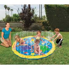 sprinkle u0027n splash water play mat backyard toddler toys from kmart