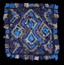 Blue And Black Rug Luxury Rugs From Rags