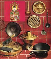 ustensiles de cuisine chinoise les ustensiles de la cuisine chinoise ras le de riz