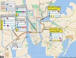 Lga Terminal Map Gateway Tunnel