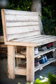 How To Build A Shoe Rack Bench Diy Ways Of Building Storage For Your Shoes