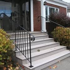 Steps With Handrails Mainely Handrails 29 Photos Landscaping 263 Neck Rd Benton
