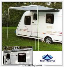 Caravan Pull Out Awnings New Sunncamp Protekta Roll Out Sun Canopy