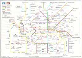 Metro Rail Map by France U0026 Paris Train Rail Maps