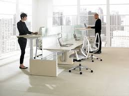Sitting Standing Desk by 5 Health Benefits Of Height Adjustable Desks Office Revolution