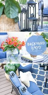 Design Your Own Deck Home Depot by Backyard Oasis With Shades Of Blue Live Laugh Rowe