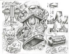 chicano tattoo designs tattoovoorbeeld chicano style