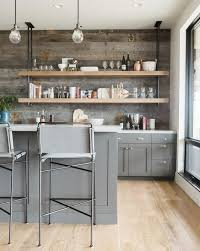 grey kitchen cabinets with brown wood floors kitchen with gray cabinets why to choose this trend decoholic