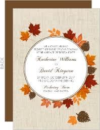 cheap fall wedding invitations fall wedding invitations gangcraft net