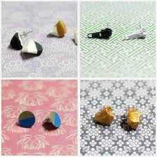 make your own earrings studs easy diy earrings 18 ideas for stud and dangle earrings