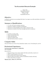 senior accountant cv sample accounting resume objective