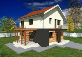 Single Story Tiny Homes Small Two Story House Plans Two Story House Plans With Balconies