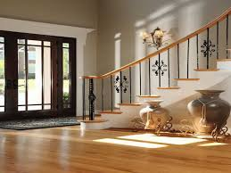 decoration modern foyer decorating ideas with laminating flooring
