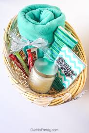 our mini family thinking of you gift basket