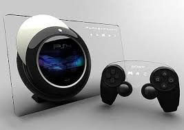 ps3 design new ps4 console design concept with touchscreen glass panel