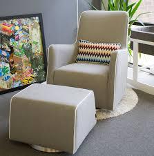 Glider Chair With Ottoman Modern Grazia Swivel Glider Nursery Furniture By Monte Design