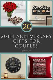 20th wedding anniversary gift ideas 31 20th wedding anniversary gift ideas for him 20th