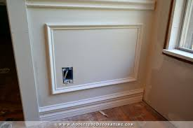 Wainscoting Shaker Style How To Install Picture Frame Moulding The Easiest Wainscoting