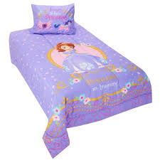 Disney Princess Twin Comforter Disney Jr Sofia The First Princess In Training Twin Comforter Set