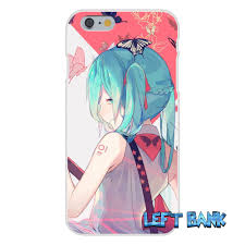 anime japan hatsune miku silicon soft phone case for htc one m7 m8
