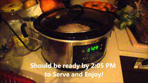 thanksgiving butterball turkey breast roast in the cooker