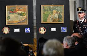 stolen van gogh paintings in italy and other recovered artworks time