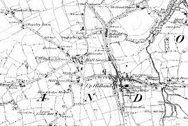Black And White Map Lancashire County Council Environment Directorate Old Maps
