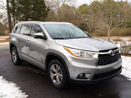 our silver 2014 toyota highlander