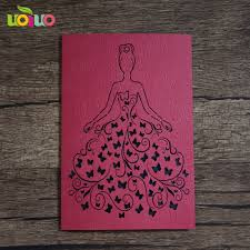 Red Wedding Invitation Cards Cheap Kinds Invitation Card Can Customize Size A4 Wedding