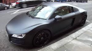 Audi R8 Matte - audi r8 matte black wallpaper 1280x720 3257