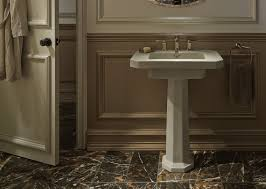 gold leaf bathroom kohler ideas