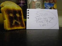 Notes Toaster Notes Left By Passive Aggressive Professionals Mandatory