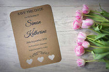 Rustic Save The Date Cards Save The Date Cards Ebay