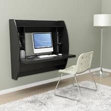 Small Computer Desk For Living Room Black Floating Desk With Storage In Computer Living Room