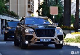 gold bentley bentley mansory bentayga 8 august 2017 autogespot