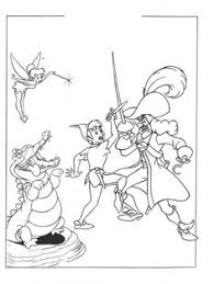 peterpan coloring pages color me tickled pink pinterest