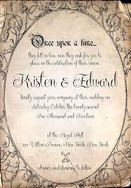 Fairytale Wedding Invitations Fairytale Wedding Invitation Designs Broprahshow