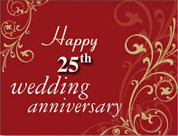 wishes 25 year with wishes happy 25th wedding marriage anniversary wishes for parents happy