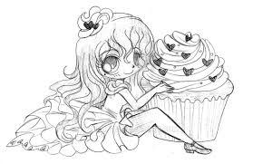 red velvet cupcake sketch by yampuff on deviantart