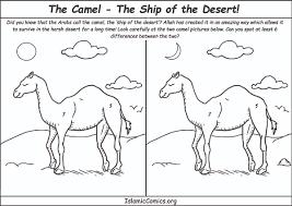 the camel u2013 the ship of the desert u2013 islamic comics