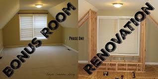 bonus room renovation tour phase one youtube