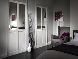Mirror Closet Doors Home Design Mirrored Bifold Closet Doors Concrete Cabinetry The