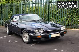 jaguar custom jaguar xjs v12 custom exhaust work to reduce noise levels youtube