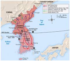 Map Of South Korea On June 28 The North Korean Army Took Over Seoul The Capital Of
