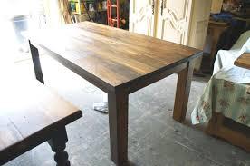 table cuisine bois cuisine bois clair source d inspiration table cuisine en bois simple
