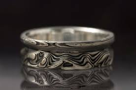 palladium sterling silver mokumé gane 14k palladium white gold and sterling silver contour