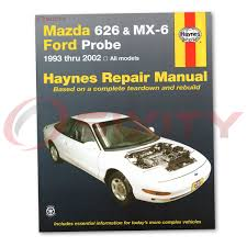 mazda 626 haynes repair manual lx dx es shop service garage book
