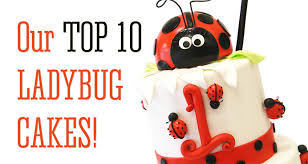 ladybug birthday cake our top ten ladybug themed cakes for children pink cake box